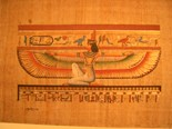 Gorgeous Egyptian Papyrus Art