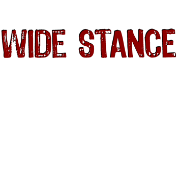 Wide Stance Red