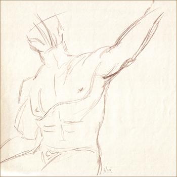 Male Torso Sketch 1
