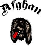 Dog Breed Art Afghan