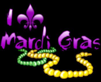 I Fleur-de-Lis Mardi Gras