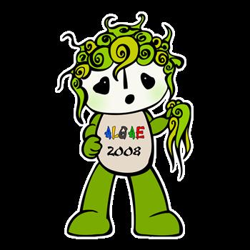 Algae Mascot Fuwa 2008