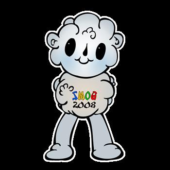 Smog Mascot Fuwa 2008