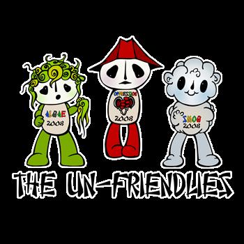 Un-Friendly Mascot Fuwas 2008