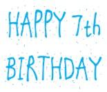 7Th Birthday Boys