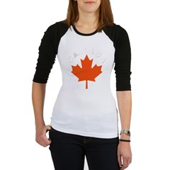 Canadian Maple Leaf Jr. Raglan