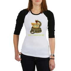 DTOM - Don't Tread on Me! Black T-Shir Jr. Raglan