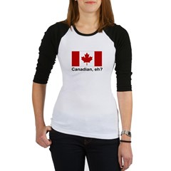 Canadian, eh? Jr. Raglan