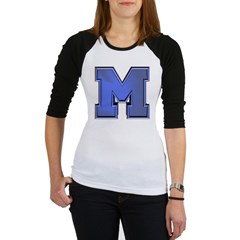M Go Blue Jr. Raglan