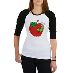 Wormy Apple Jr. Raglan