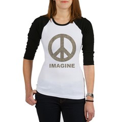 Vintage Imagine Peace Jr. Raglan