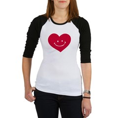 Smiley Heart Jr. Raglan