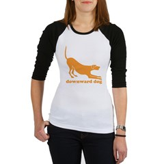 Downward Facing Dog Jr. Raglan