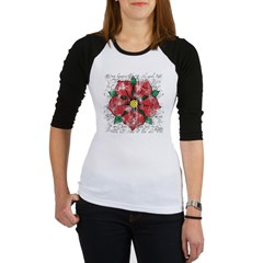 Red Rose Jr. Raglan