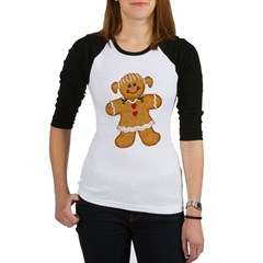 Gingerbread Woman Jr. Raglan
