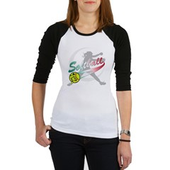 Girls Softball Jr. Raglan