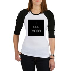 I Kill MRSA Jr. Raglan