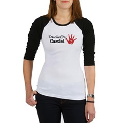 Touched by Castiel Jr. Raglan