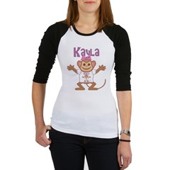Little Monkey Kayla Jr. Raglan