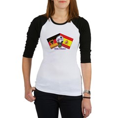Germany vs. Spain 2010 Soccer Jr. Raglan