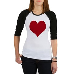 - Heart/Love Design Jr. Raglan