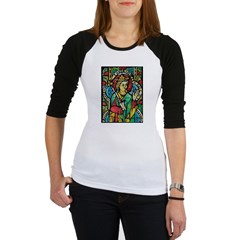 Stained Glass Queen Light Jr. Raglan