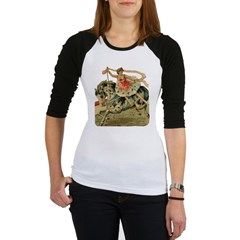 Circus Horse And Rider Jr. Raglan