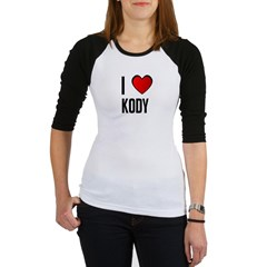 I LOVE KODY Jr. Raglan