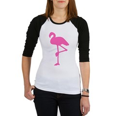 Hot Pink Flamingo Jr. Raglan