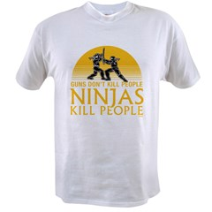 ninja4a-black Value T-shirt