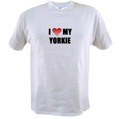 ilovemyyorkie.JPG Value T-shirt