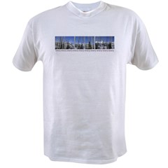 Park City on top of Deer Vall Ash Grey Value T-shirt