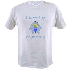 I love my grandma (boy butterfly) Value T-shirt