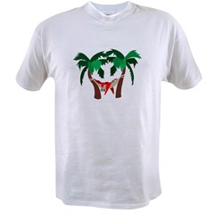 Macaw in Palms Value T-shirt