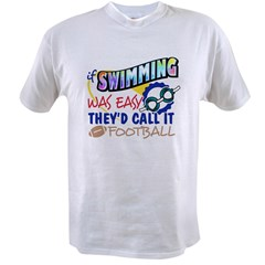 Swimming Was Easy Value T-shirt