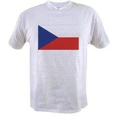 Czech Republic / Czech Flag Value T-shirt