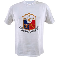 Philippines Coat of Arms Value T-shirt
