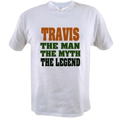 TRAVIS - The Legend Ash Grey Value T-shirt