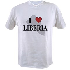 I Love Liberia Value T-shirt