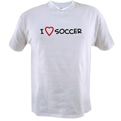 I Love Soccer Value T-shirt
