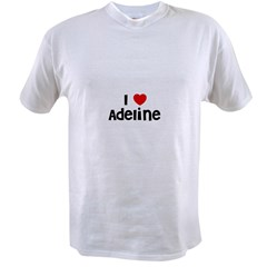 I * Adeline Ash Grey Value T-shirt