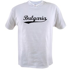Vintage Bulgaria Value T-shirt