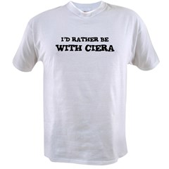 With Ciera Ash Grey Value T-shirt