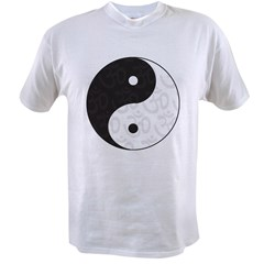 Ying Yang Yoga Value T-shirt