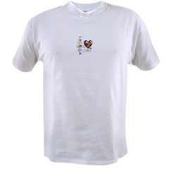 I love someone with autism Value T-shirt