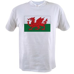 Wales Fla Value T-shirt