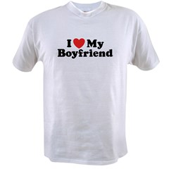 I Love My Boyfriend Value T-shirt