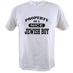Property of a Nice Jewish Boy Value T-shirt