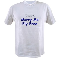 Marry Me, Fly Free Value T-shirt