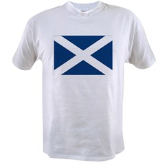 Scottish Flag Value T-shirt